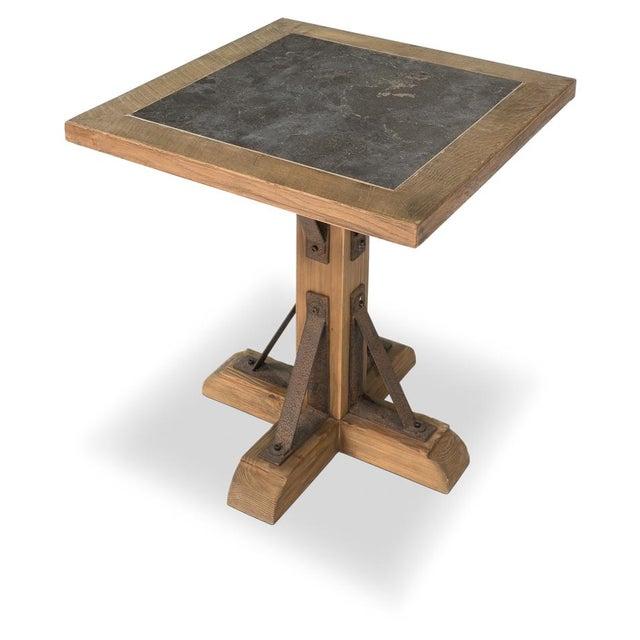 Bluestone Top Restaurant Table Chairish - 4 top restaurant table