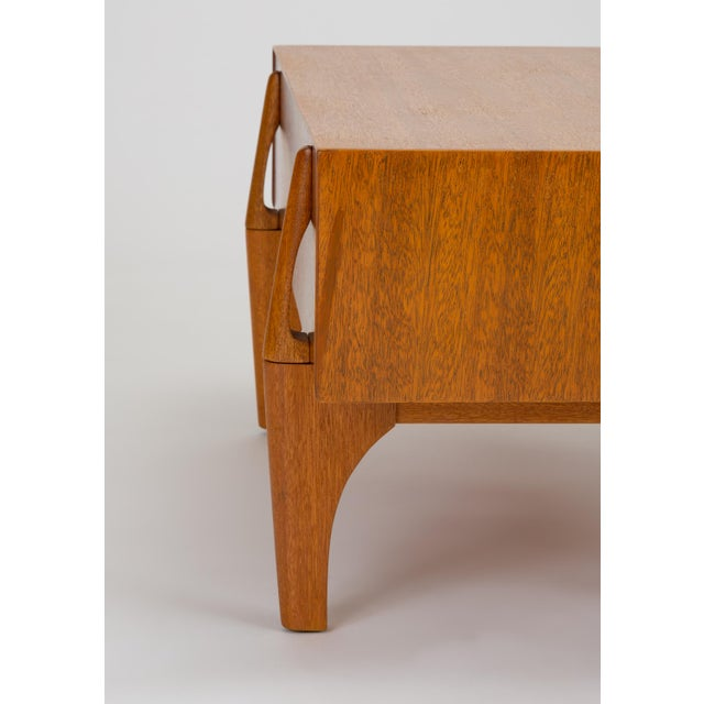 Single Bench With Storage by John Keal for Brown Saltman For Sale - Image 10 of 13