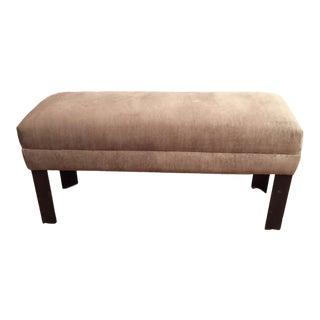 Bench - Vintage Studio Design Velvet Bench For Sale