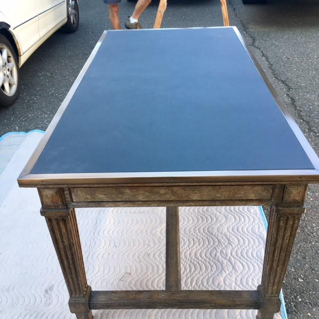Rustic Rustic David Iatesta Coco Desk For Sale - Image 3 of 5