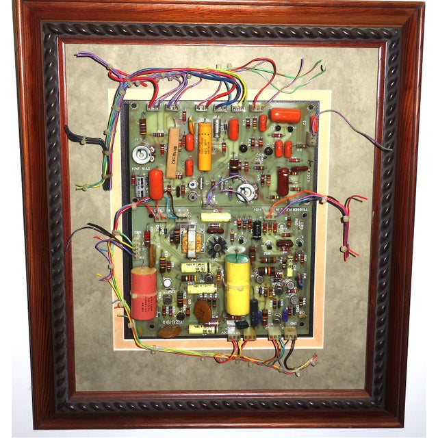 Offered for your consideration is this mid 20th century component art, wall sculpture by Bill REITER. Early archaic...