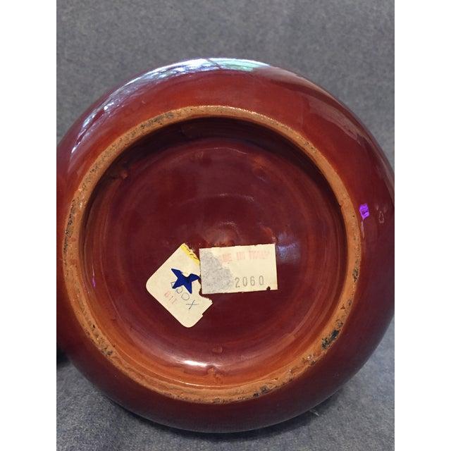 Italian Mid-Century Modern Terra Cotta Vase For Sale - Image 10 of 12