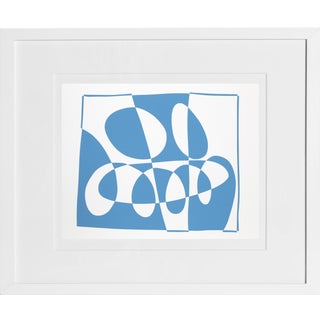 Josef Albers - Portfolio 2, Folder 3, Image 1 Framed Silkscreen For Sale