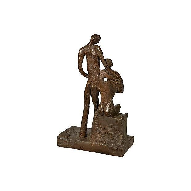 1970's Bronze Signed Sculpture - Image 4 of 5