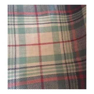 Ralph Lauren Back Bay Plaid Slate Fabric For Sale