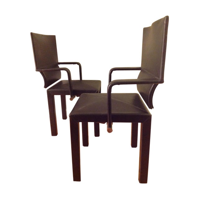 B&b Italia Contemporary Dining Chairs - A Pair - Image 1 of 7