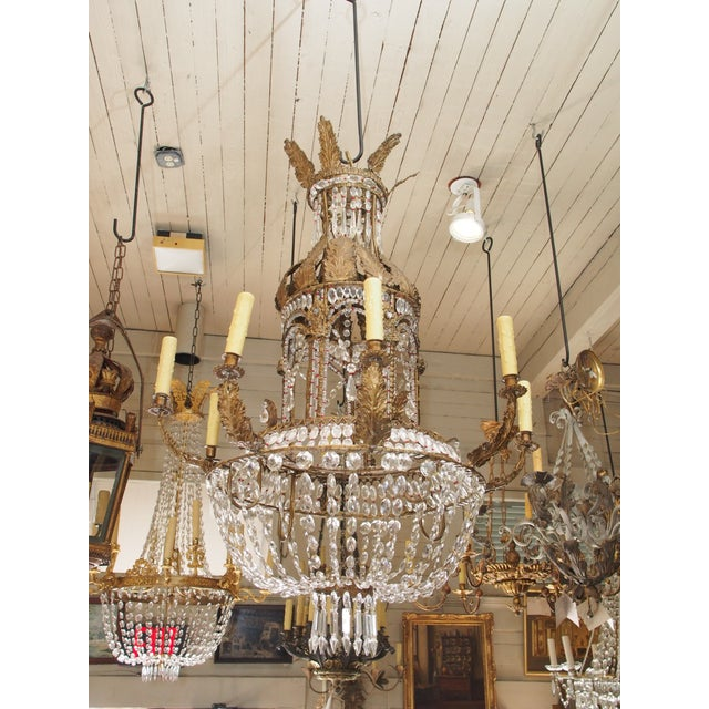 Empire Crystal Chandelier - Image 9 of 9