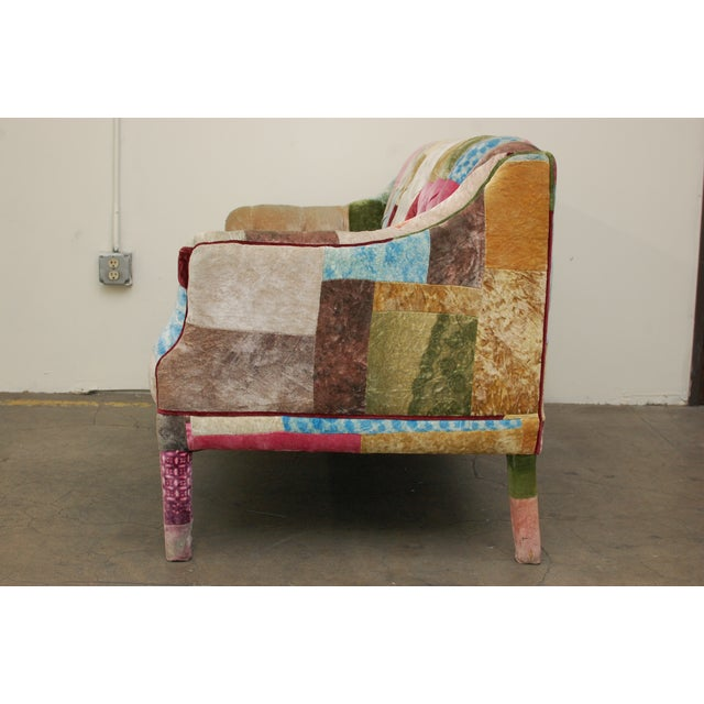 Multicolor Timothy Oulton Loveseat - Image 7 of 7