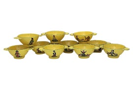 Image of Shabby Chic Serving Bowls