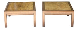 Image of Burlwood Side Tables