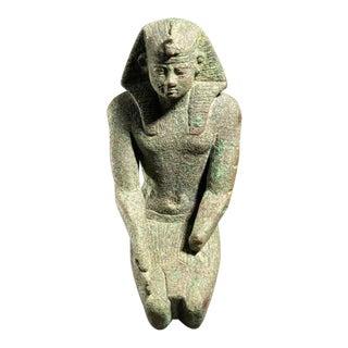 Bronze Sculpture of a Pharaoh
