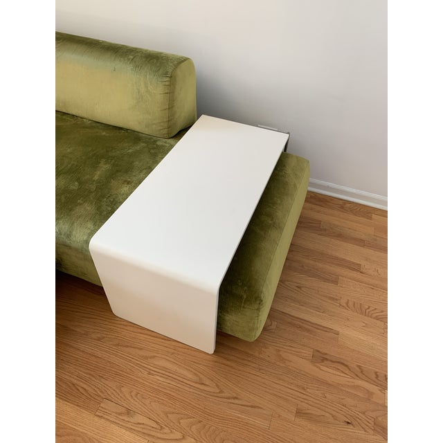 2000 - 2009 Moroso Lowland Sofa With Ottoman & Side Table For Sale - Image 5 of 8