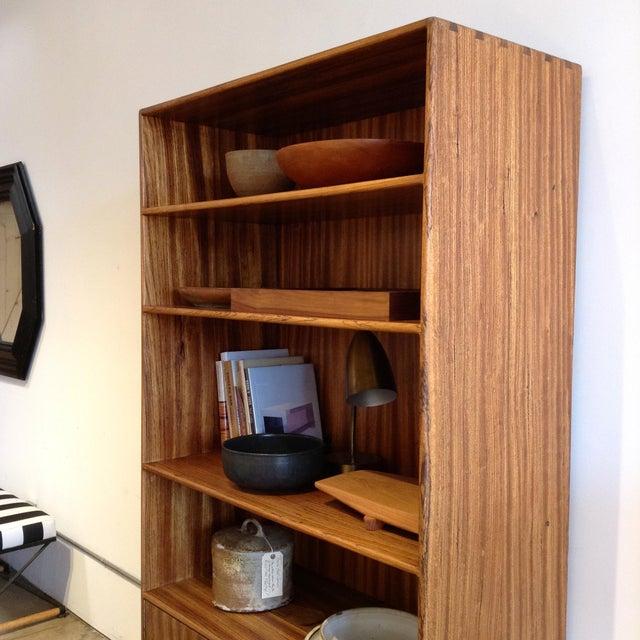Mid-Century Modern 1970s Vintage Cabinet & Shelves For Sale - Image 3 of 9