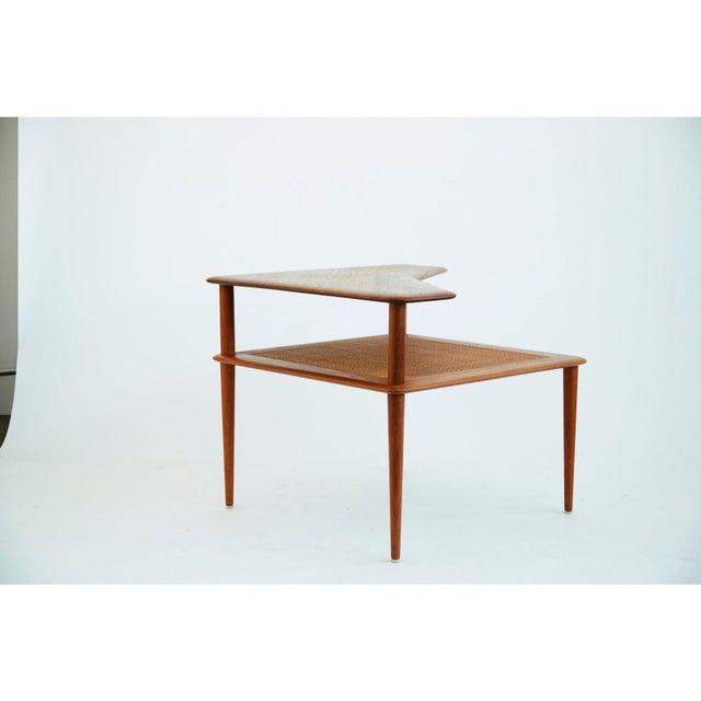 Danish Modern Peter Hvidt and Orla Mølgaard-Nielsen Scandinavian Modern Minerva Side Table For Sale - Image 3 of 6