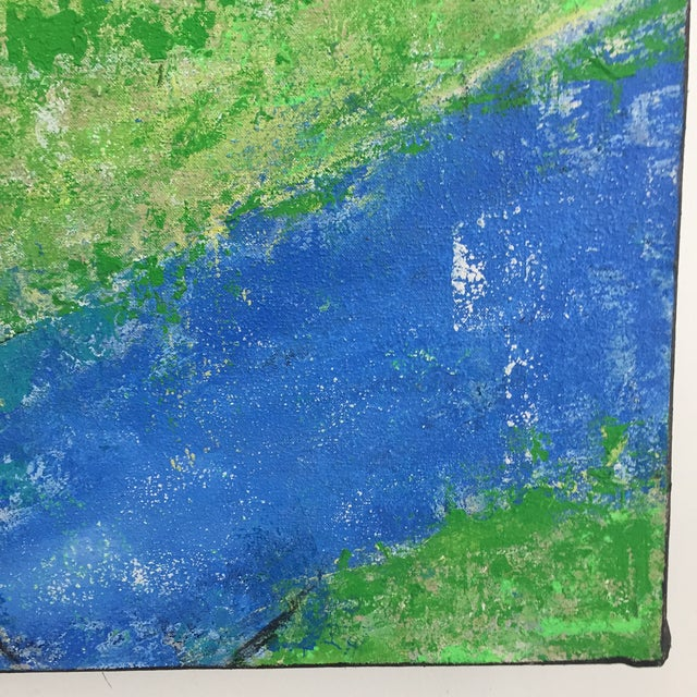 Katherine Musser Berry Tree in Landscape Original Acrylic on Canvas Painting For Sale - Image 6 of 9
