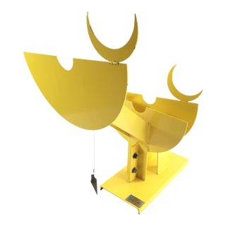 Modern Bullock Sculpture of a Bull For Sale