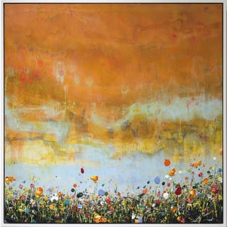 "Lee Herring ""Fading Blue"" Original Painting For Sale"