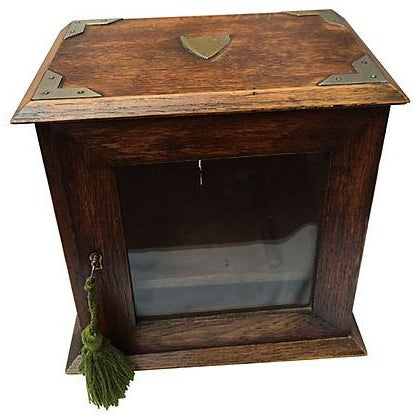 Antique English Display Cabinet - Image 1 of 7