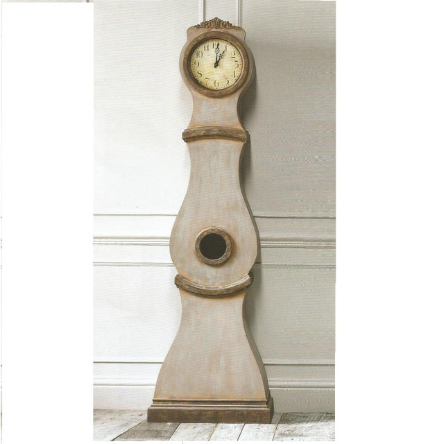 Reproduction Mora Clock This is a reproduction Swedish Mora clock in traditional Mora Clock shape but with a modern...
