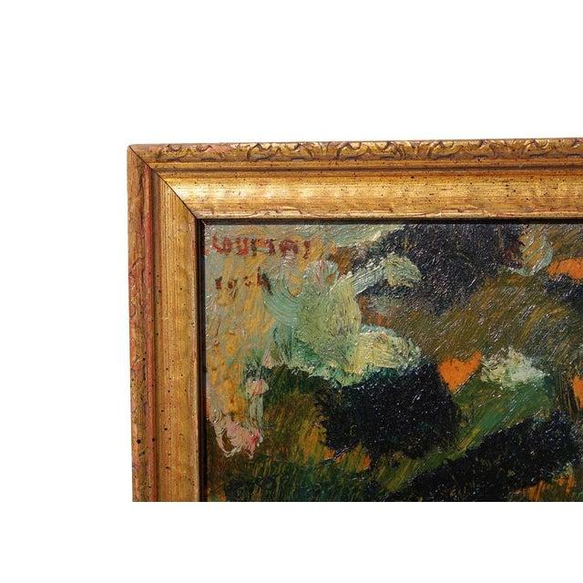 Vintage Framed Landscape Painting - Image 2 of 4