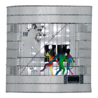 Jamie Grace Davis Aluminum Wall Scupture For Sale
