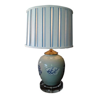 Chinoiserie Porcelain Table Lamp