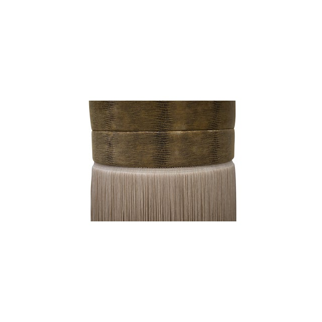 Mid-Century Modern Sophia Puff From Covet Paris For Sale - Image 3 of 7