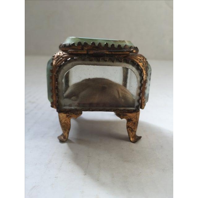 Antique Alsatian Souvenir Ring Box For Sale - Image 4 of 6
