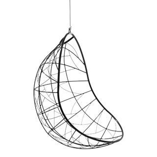 Nest Egg Hanging Swing Chair - Black For Sale