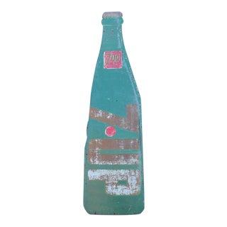 Masonite 7Up Bottle Sign