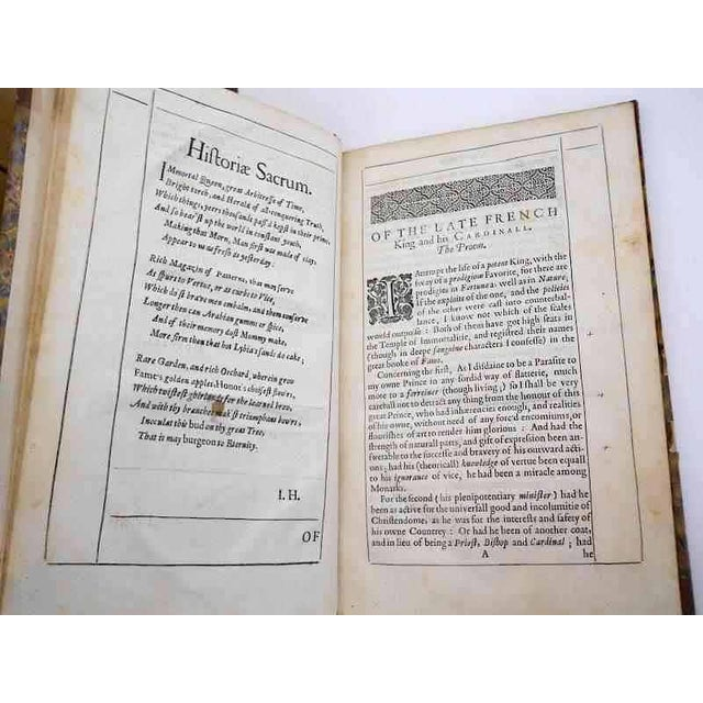 "Mid 1600s ""Lustra Ludovici , Lewis Xiii"" Book by I. Howell For Sale - Image 4 of 5"