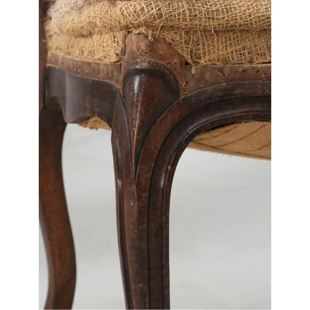 Wood French Antique Carved Parlor Chairs - Set of 6 For Sale - Image 7 of 12