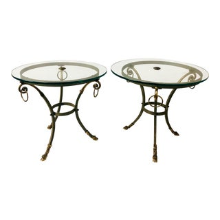 Neo-Classical Style Gueridon End Tables For Sale