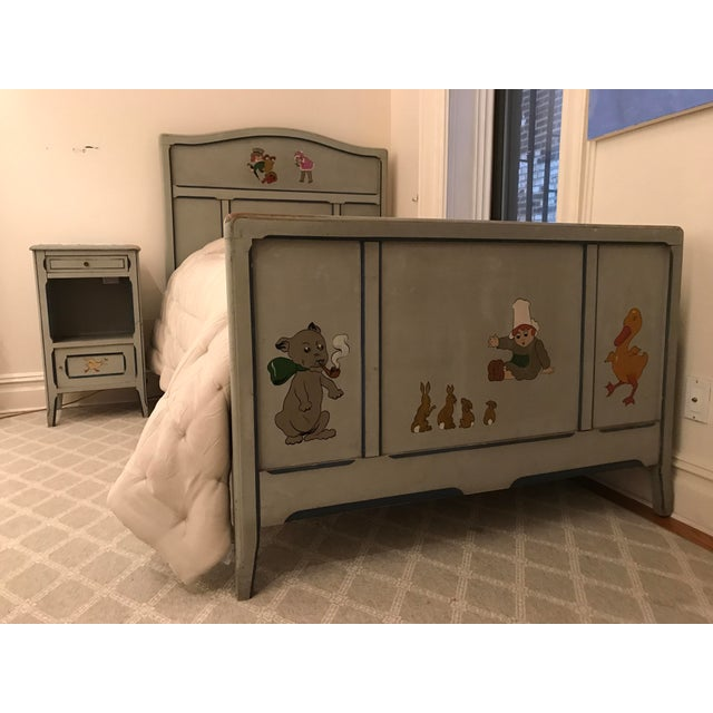 Children's Antique French Bed For Sale In New York - Image 6 of 6