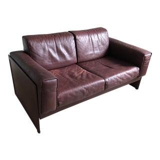 Tito Agnoli Korium Km3/2 Sofa by for Matteograssi For Sale