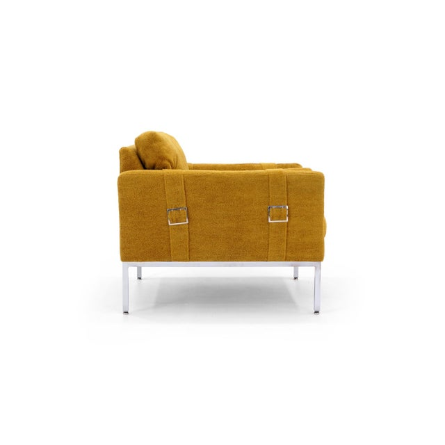 Original Complimenting Pair of Milo Baughman Lounge Chairs - Image 4 of 10