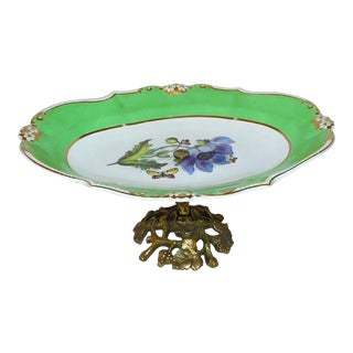 Early 20th Century Glo-Mar Artworks Serving Tray For Sale