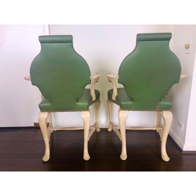 """Aesthetic Movement Truex American Furniture Pair of """"Spider Chairs"""" 1940's For Sale - Image 3 of 5"""