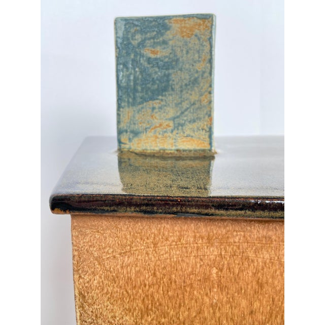 1990s 1990s Large Contemporary Architectural Ceramic Sculpture For Sale - Image 5 of 10