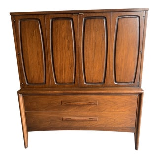 1960s Mid Century Broyhill Emphasis Gentlemen Chest For Sale