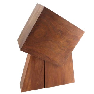 Wood Sculpture by D Slivka For Sale