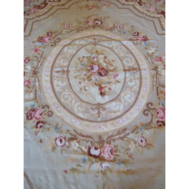 "French Aubusson Rug - 8' x 10"" - Image 5 of 9"