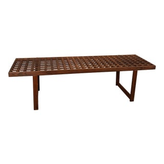 Peter Lovig Nielsen Teak Bench For Sale
