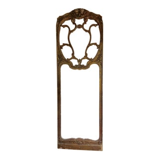Gilt Door Size Frame For Sale