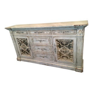 Habersham Monaco Illuminated Credenza For Sale