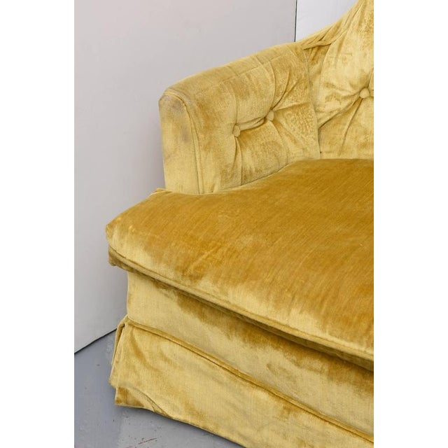 High Back Swivel Tufted Rocker/Lounge Chairs--1960s For Sale In Miami - Image 6 of 8