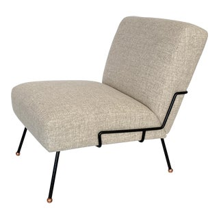 Dan Johnson Slipper Lounge Chair for Pacific Iron For Sale
