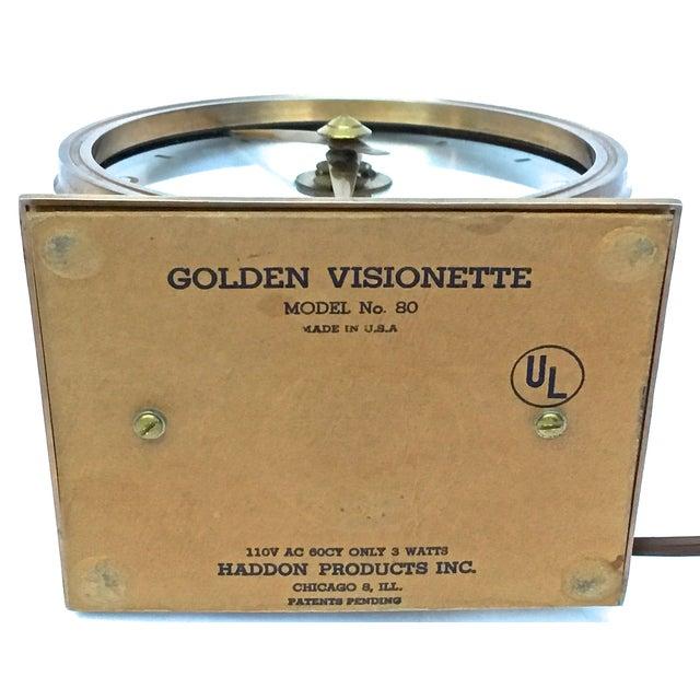 Vintage Art Deco Atomic Clock For Sale - Image 7 of 7