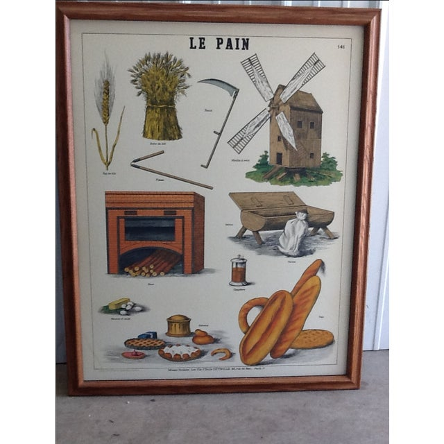 """The seller says: """"I have had this print for 25 years. It is in very good condition. One of two prints, these used to hang..."""