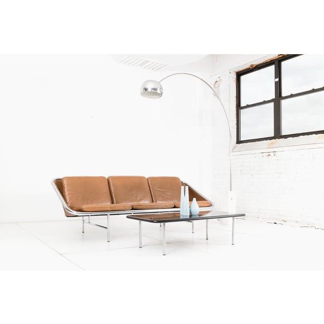 Animal Skin George Nelson Sling Sofa for Herman Miller For Sale - Image 7 of 9